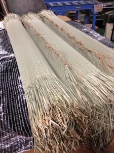 七島藺草の畳表